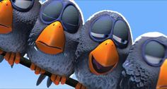 For the Birds - Pixar short film - Great for use in French class! Have kids write out what happens in French.