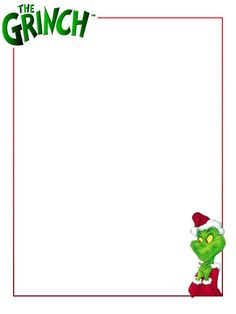 "The Grinch - Project Life Journal Card - Scrapbooking ~~~~~~~~~ Size: 3x4"" @ 300 dpi. This card is **Personal use only - NOT for sale/resale** Logo/clipart belong to Universal Studios *** Click through to photobucket for more versions of this card ***"