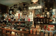 The Penny Candy Counter at Wayside Country Store