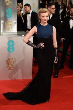 Natalie Dormer Evening Dress - Natalie Dormer Clothes Looks - StyleBistro