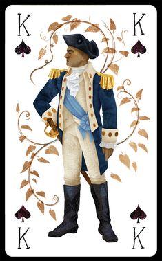 George Washington as King of Spades // Korina Dabundo
