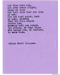Typewriter Series #1415 by Tyler Knott GregsonChasers of the Light & All The Words Are Yours are Out Now!