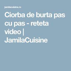 Ciorba de burta pas cu pas - reteta video | JamilaCuisine Falafel, Vegan, Sweets, Falafels, Vegans