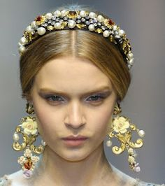 Dolce and Gabbana Hair Pieces