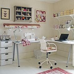 Pretty up your sewing room with these inspiring decorating ideas | Ideal Home