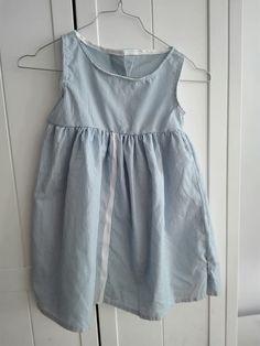 Refashioned shirt girls dress