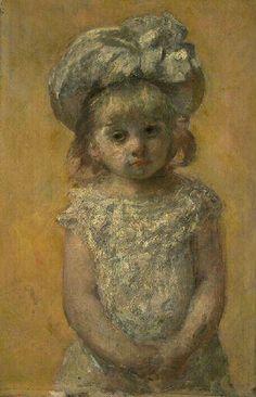 Mary Cassatt Portrait of girl, 1879