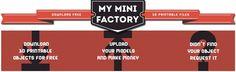My Mini Factory 3D model online repository