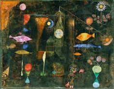 Paul Klee - Fish Magic, 1925.