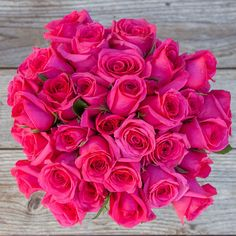 Mojave | California grown roses. Scorching hot pink! | flowers