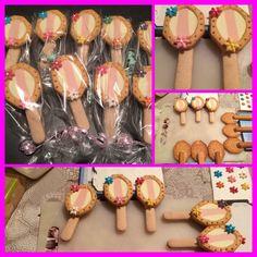 Leuke traktatie voor meisjes van lange vingers en milkbreak koekjes. Ook nog eens makkelijk te maken!