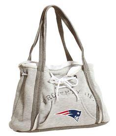 New England Patriots women's sweatshirt bag