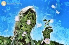Springtime multiple exposure. Charnell Timms Photography
