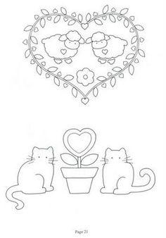 HEART, LAMB, SHEEP, CAT, CATS, FLOWER, FLOWERS
