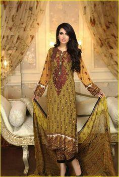 Ayesha Chottani Summer Eid Wear Collection 2015 by Shariq Textiles3