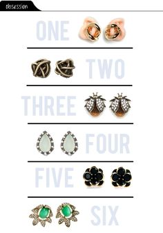We loved @thevaultfiles round-up of amazing earrings!  (thanks for including us!!)