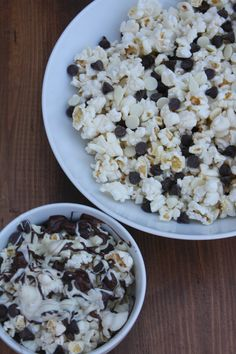 This black and white popcorn recipe is so decadent and delicious! The salty and sweet flavors are fabulous together!