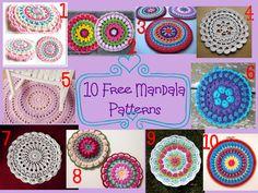 10 free mandala patterns
