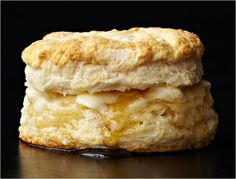 """""""The secret of biscuits is that they are dead simple, and you should be able to make them in your sleep or even in the midst of a blind-drunk hangover. To hell with the gourmet stuff.""""   -Christopher Kimball"""