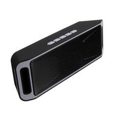 Hot SC208 Wireless Speaker Bluetooth 4.0 Stereo Subwoofer Speakers TF USB FM Radio Built-in Mic Dual Bass Sound Box Caixa De Som