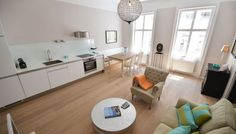 Modern and bright serviced apartment in Vienna, Austria, for rent! Serviced Apartments, Luxury Apartments, Vienna Austria, Your Perfect, Kids Rugs, Bright, Modern, Home Decor, Trendy Tree
