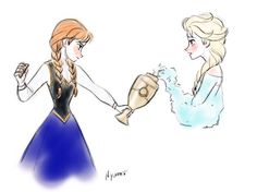Oh, Anna and Elsa in OUAT! *.*