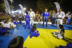 Firmino Filho visita Arena Tour Judô no Parque da Cidadania