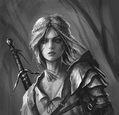 Ciri (Witcher) by Takeda11.deviantart.com on @DeviantArt