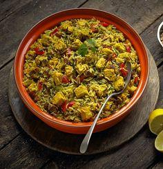 Quorn Meat Free Chicken Pieces Hyderabadi Biryani