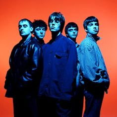 by Steve Double.Oasis by Steve Double. Banda Oasis, Oasis Lyrics, Oasis Album, Rock Festival, Rock Band Photos, Oasis Band, Liam And Noel, Group Photography, Britpop
