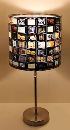 DIY Lampshade - 35 funky ideas on how to make a lampshade .- DIY Lampshade – 35 funky Ideen, wie man einen Lampenschirm selbst macht DIY Lampshade – 35 funky ideas on how to make a lampshade yourself … - Upcycled Home Decor, Diy Home Decor, Upcycled Crafts, Diy Crafts Vintage, Tv Decor, Wall Decor, Recycler Diy, Make A Lampshade, Lampshade Ideas
