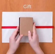 Diy Crafts - to,Geschenke-, Not sure how to wrap gifts? look at this , Not sure how to wrap gifts? Look at this, the to you Geschenke Not She. Diy Crafts Hacks, Diy Crafts For Gifts, Diy Home Crafts, Diy Arts And Crafts, Wood Crafts, Creative Gift Wrapping, Creative Gifts, Wrapping Gifts, Diy Gift Wrapping Videos