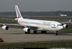 French Armée de l'Air F-RAJA (cn 075) Airbus A340-211 transport.  Eindhoven (- Welschap) (EIN / EHEH) - Netherlands, March 31, 2014.