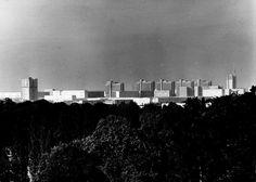 Halle Neustadt, DDR ab 1964 erbaut