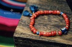 Tibetan Coral Bracelet, evil eye bracelet, dainty bracelet, lucky charms bracelet, friendship bracelet by NomadTotem on Etsy https://www.etsy.com/hk-en/listing/568723892/tibetan-coral-bracelet-evil-eye-bracelet