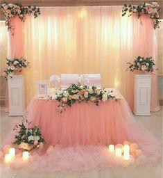 Elegant Wedding Reception Backdrops | ... wedding trends this season ...