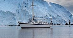 Hallberg-Rassy 64 in Antarctica