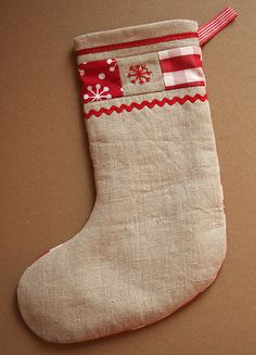 Christmas Stocking Front   Flickr - Photo Sharing!