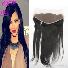Indian Hair Frontal Free Part Closure Ear To Ear 6a Grade Straight Virgin Brazilian Malaysian Peruvian Lace Frontal Closure 13*4 Inch From Fashionhairqd, $49.01 | Dhgate.Com