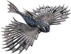 Stephen Webster Jewels Verne flying fish brooch