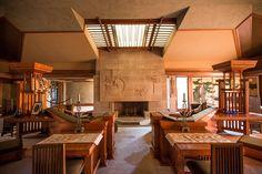 A Visual Tour Through Frank Lloyd Wright's First LA House - Restored