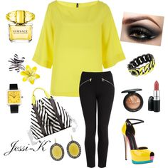 Neon, created by jessica-ord on Polyvore