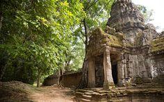"Kambodscha: ""Temple Running"" in Angkor Wat Angkor Wat, Travel Around The World, Around The Worlds, Khmer Empire, Real Life, Adventure, Places, Running, Cambodia"