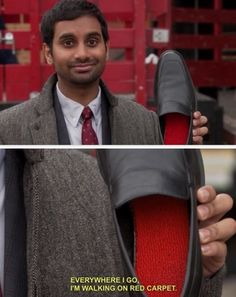 Aziz Ansari is my favorite