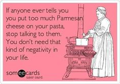 True story - lol - italian food - quote