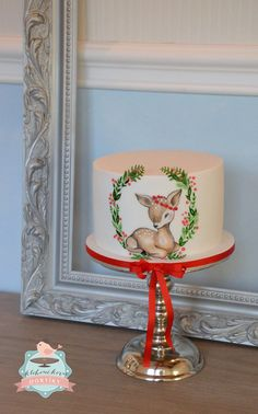 Kloboučkovic dortíky Kids Christmas, Xmas, Christmas Cakes, Beautiful Cakes, Amazing Cakes, Cupcake Cakes, Cupcakes, Little Cakes, Piece Of Cakes