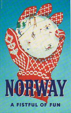 .Norsk ad. I would love to have this to hang up. It is so me !!!