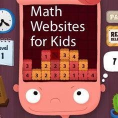 math websites for kids - guided math stations Math Websites For Kids, Math For Kids, Fun Math, Math Games, Math Activities, Educational Websites, Logic Games, Educational Leadership, Educational Technology
