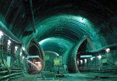 Katabiragawa underground sewer tunnel