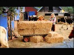 Sesamstraat Tommie en Bennie Jolink op de boerderij